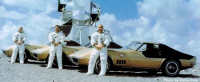 The 3 Astronauts order 3 same corvettes in Riverside Gold